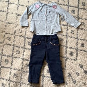 Jeans outfit 12-18 months
